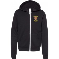 Youth Full Zip Hooded Sweatshirt - Barron Bears