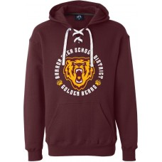 Sport Lace Hooded Sweatshirt - BASD Emblem