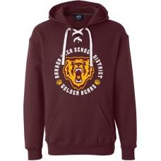 Sport Lace Hooded Sweatshirt - BASD Emblem