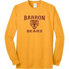 Long Sleeve Blend Tee - Barron Bears